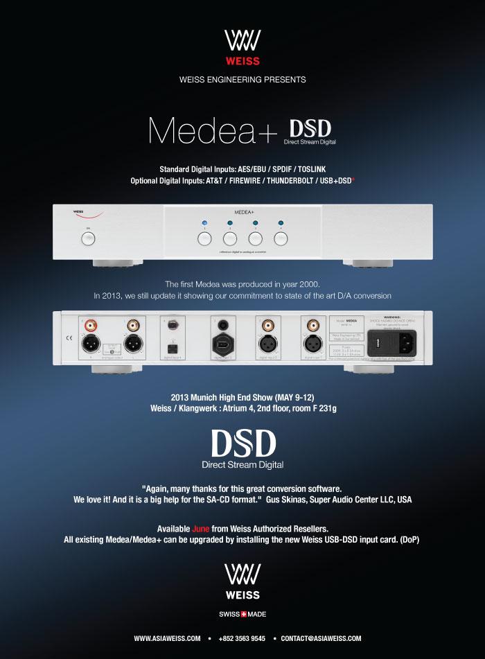 Weiss-MEDEA+USB-DSD