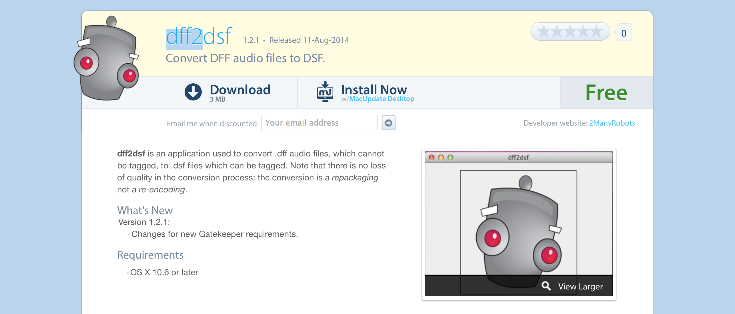 DSD file format – Design w Sound